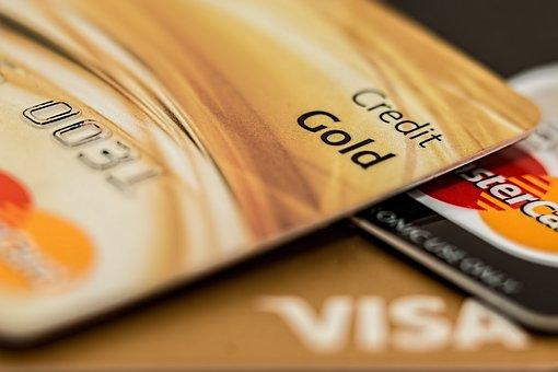 クレジット カード, マスターカード, Visa カード, クレジット, 支払い