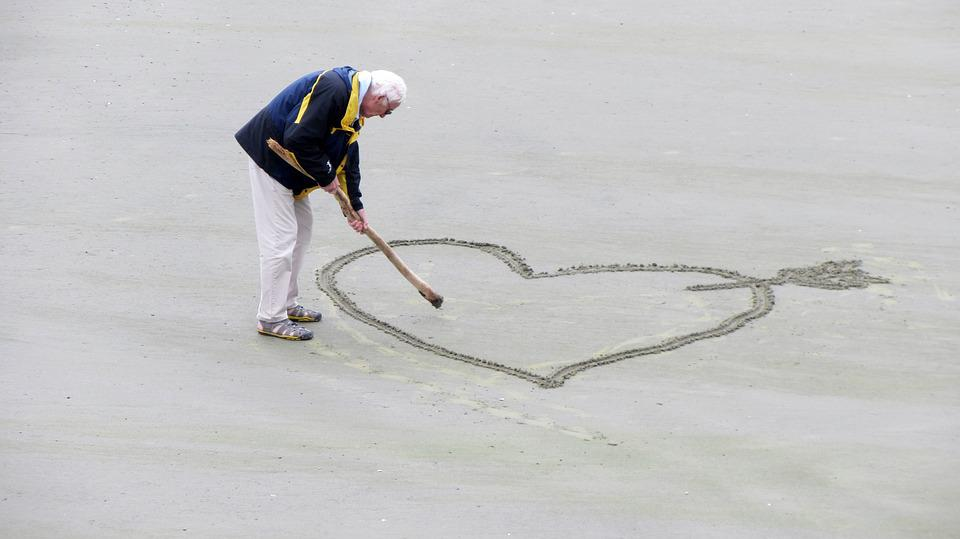 Love, Old People, The Heart Of, Pension, Passion, Beach