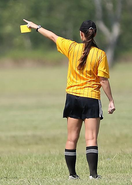 Free Photo Soccer Referee Female Free Image On