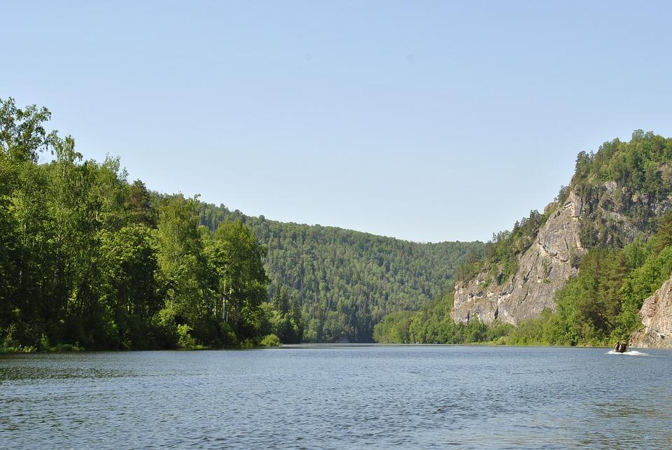 Agidel ウラル 川 · Pixabayの無...