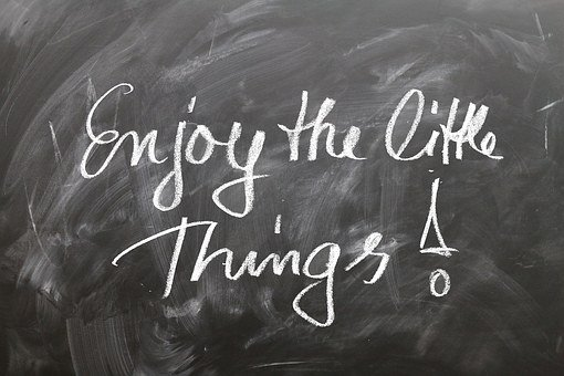 Positive, Think, Saying, Small, Things
