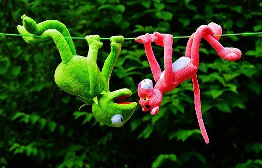 Hang Out, Plush Toys, Kermit