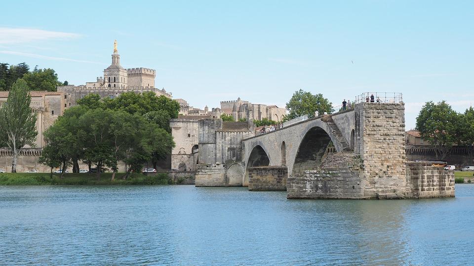 Photo gratuite pont saint b n zet pont d 39 avignon image for Ch d avignon