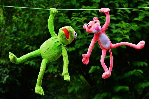Hang Out, Plush Toys, Kermit