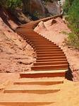 stairs, gradually