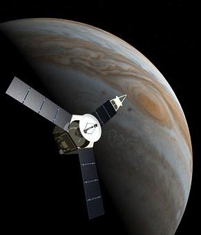 Space Probe, Juno, Jupiter, Planet