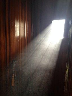 Dust Doorway Door Window Sunlight Arc