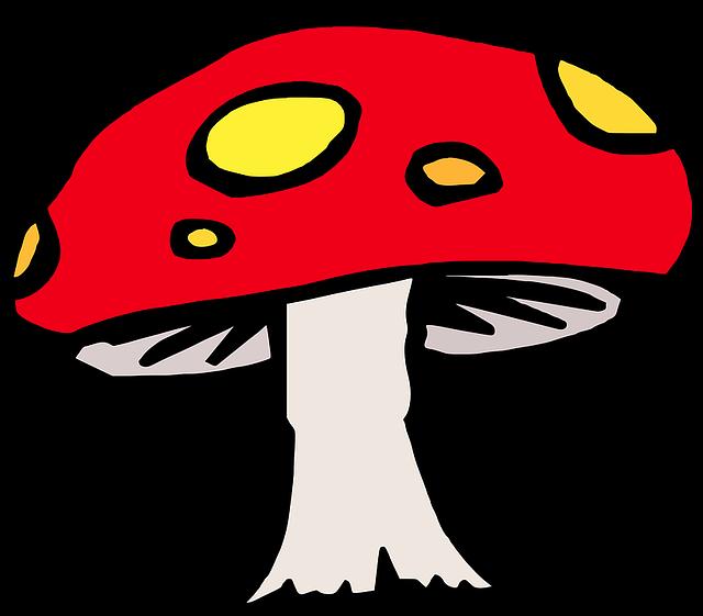 Toad Stool Mushroom Fairy Tale 183 Free Vector Graphic On
