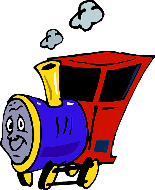 Train Kids Engine Free Vector Graphic On Pixabay