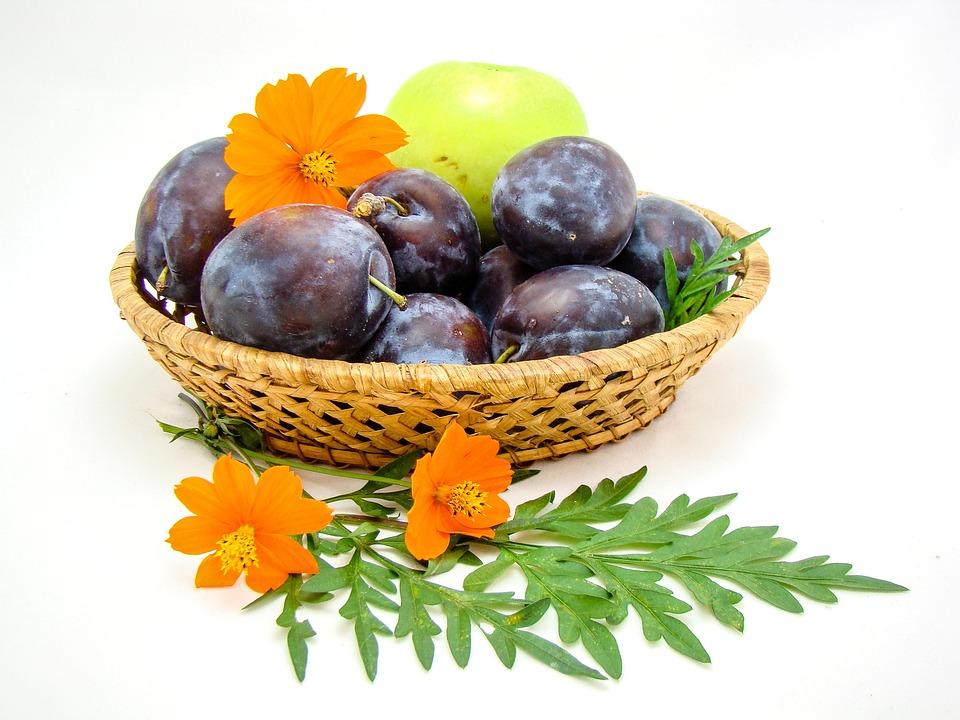 Obst Korb Blumen · Kostenloses Foto auf Pixabay