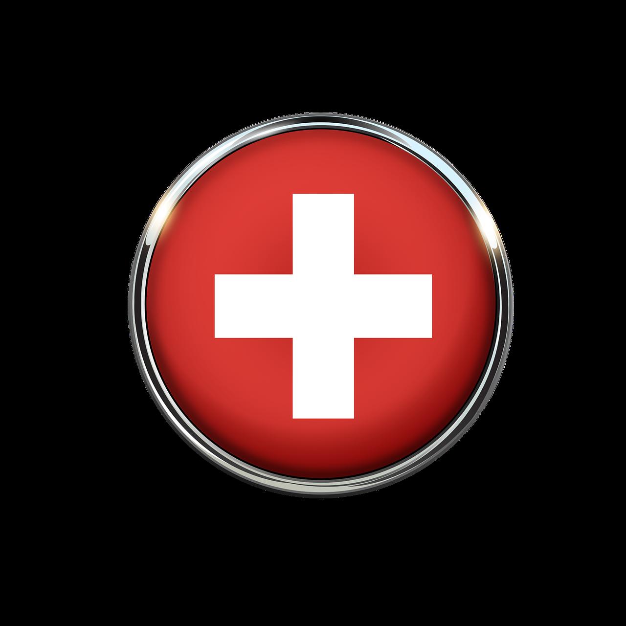 Suiza Bandera Circulo Imagen De - Imagen gratis en Pixabay