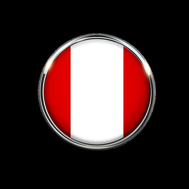 Vw Of America >> Peru Bandera Circulo · Imagen gratis en Pixabay
