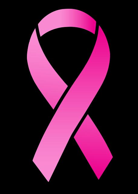 Free Illustration Ribbon, Satin, Pink Ribbon, Medical -2541