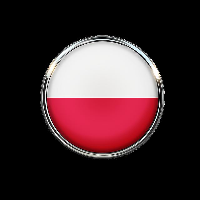 Darmo Ilustracja Polska Flaga Koło Tapety Gratis