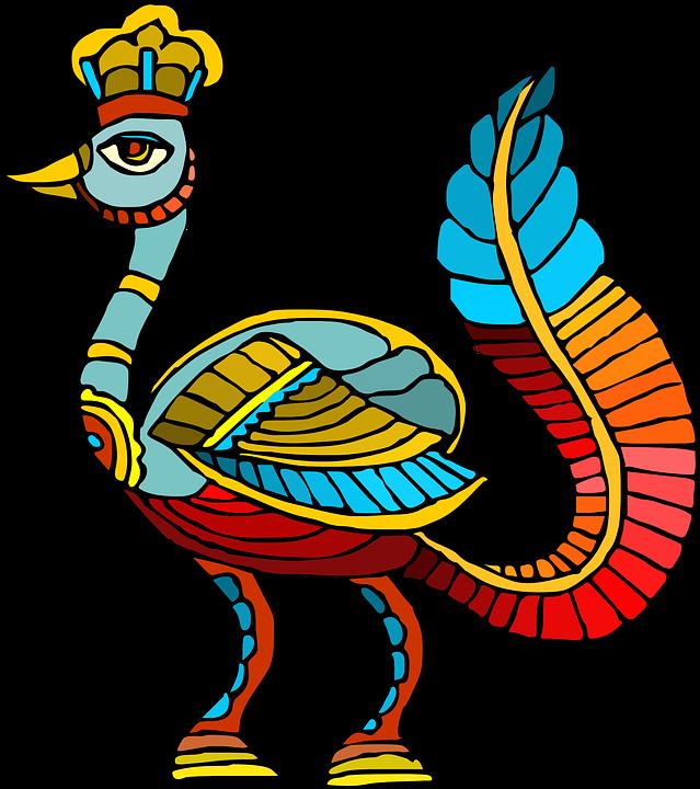 Burung Abstrak Warna Warni · Gambar Vektor Gratis Di Pixabay