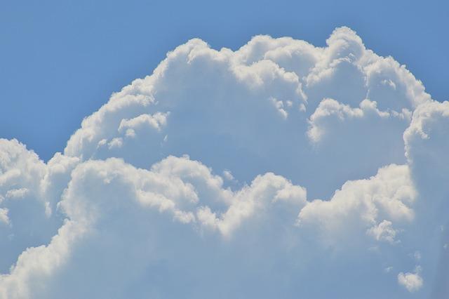 free photo cumulus clouds sky white blue free image on pixabay 1526262. Black Bedroom Furniture Sets. Home Design Ideas