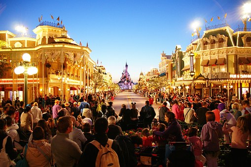 Euro, Disney, Disneyland, Paris, Theme