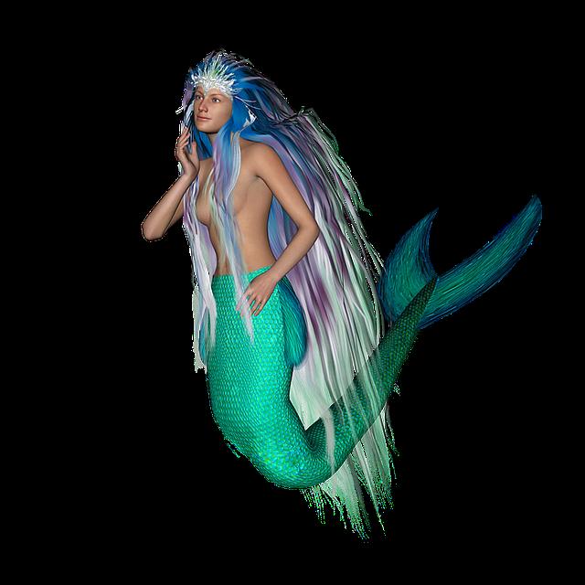 mermaid tail mythical 183 free image on pixabay