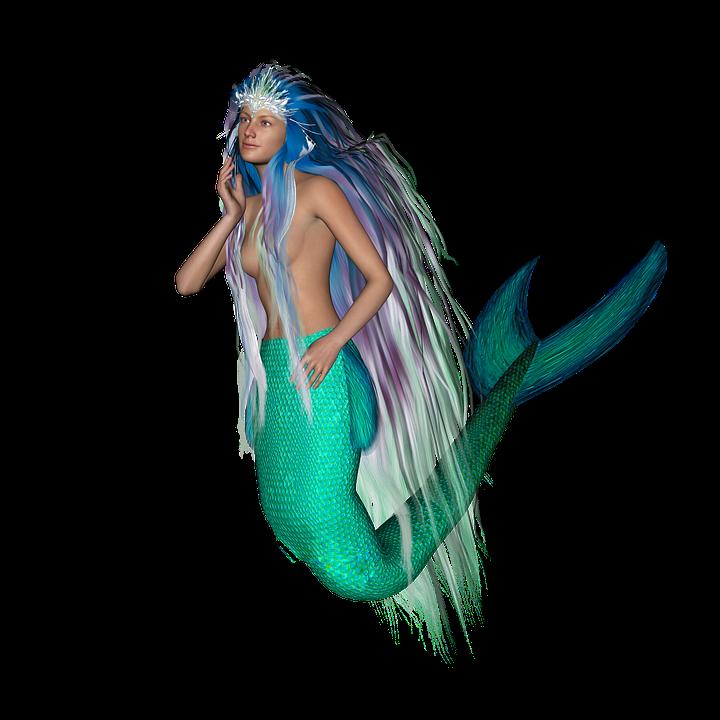transparent mermaid - photo #8