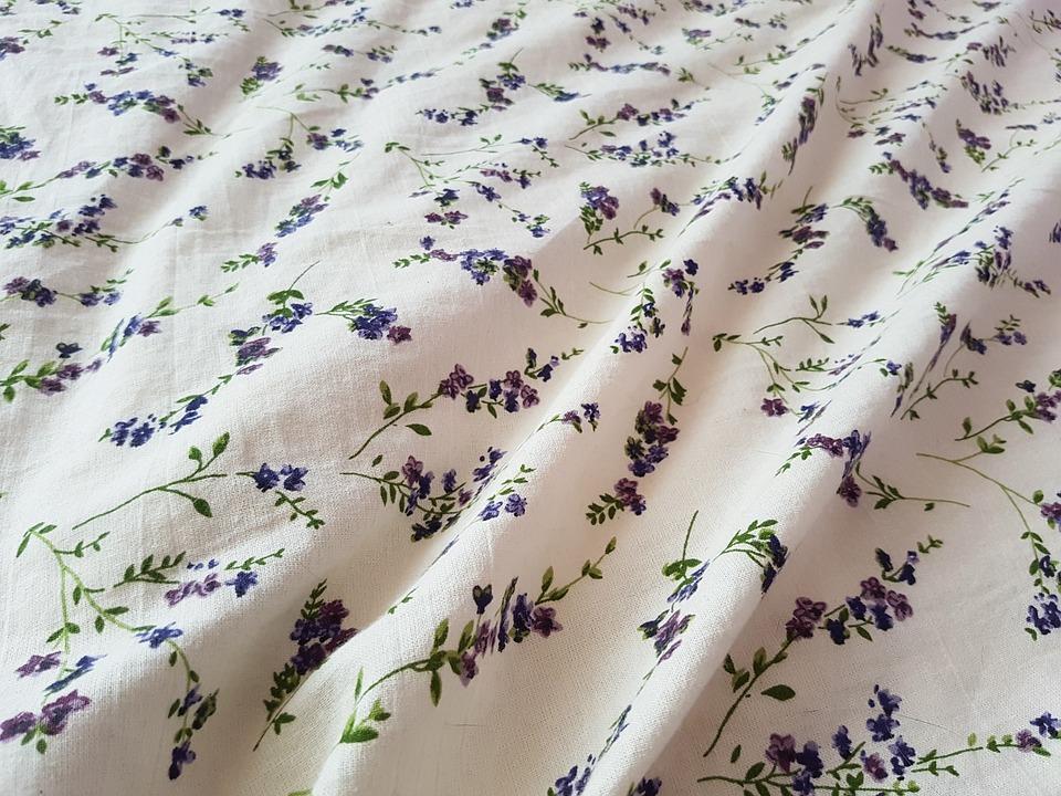 Lavendel Bettwäsche Stoff Kostenloses Foto Auf Pixabay