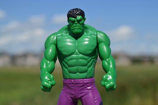超人ハルク, スーパー ヒーロー, 緑, 男, 男性, 怒って, ヒーロー