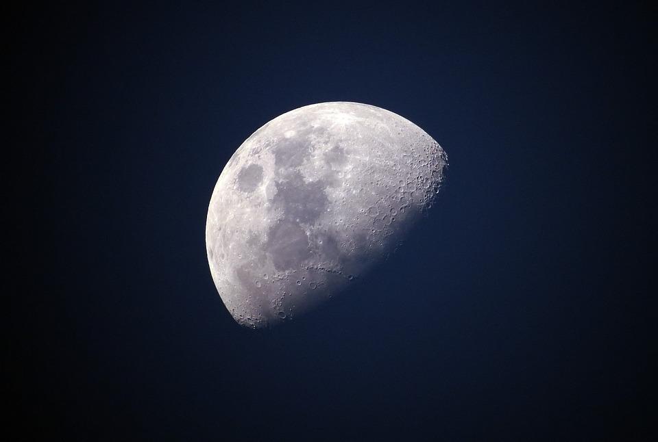 Luna, Cielo, Lunar, Universo, Celeste, Brillante