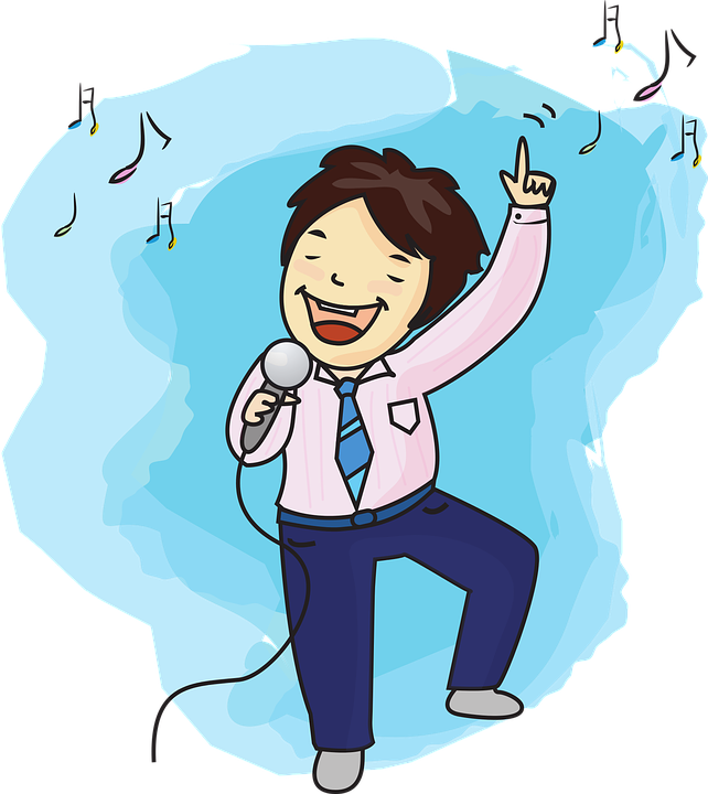 New Song Singa One Man: 벡터파일 남자 노래 노래하는 · Pixabay의 무료 벡터 그래픽
