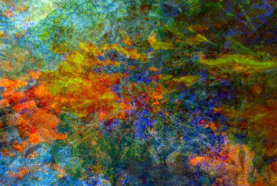 Rainbow Abstract Painting Texture Free image on Pixabay