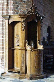 Konfesjonał, Spowiedź, Kościół