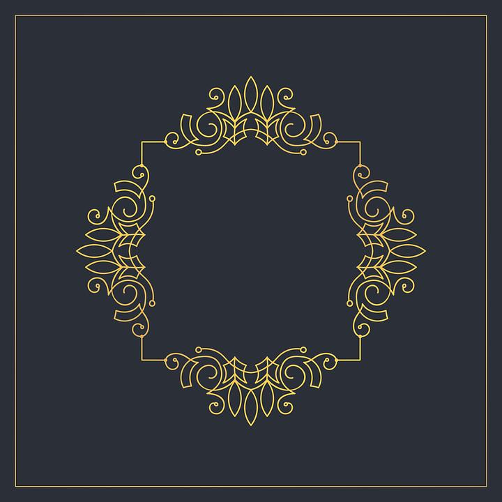 Monograma El Marco De Calados · Gráficos vectoriales gratis en Pixabay