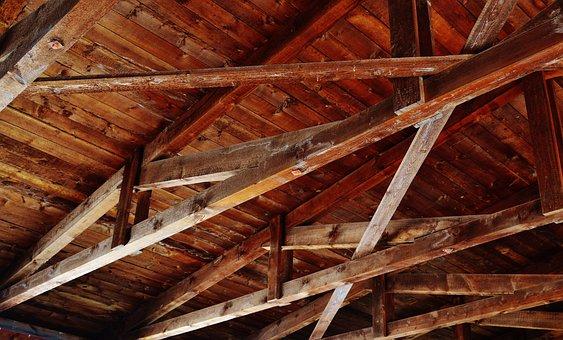 construccin de techo madera manta