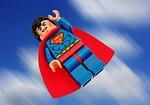 superman, lego, superhero