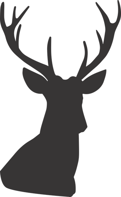 Yelp Icon Transparent Deer Silhouette ·...