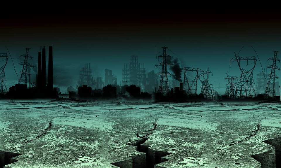 Industry, Setting, World, Urban, Apocalypse, Landscpe