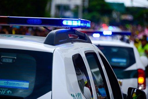 Carro, Carros De Polícia, Caravana