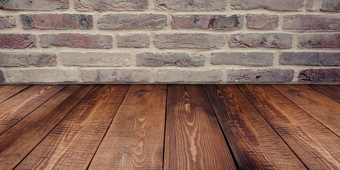 Floor Wall Set Brick Wood Room Studio