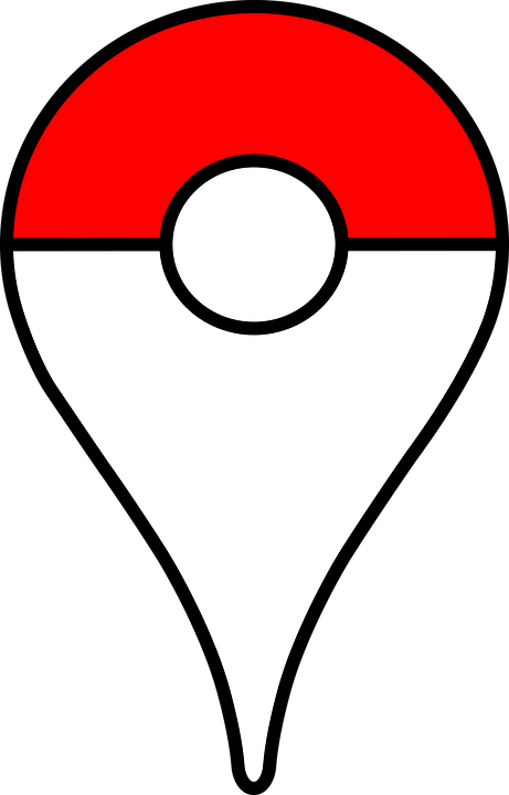 Pin, Pokemon, Pokeball, Map, Seeker, Pokemon Trainer