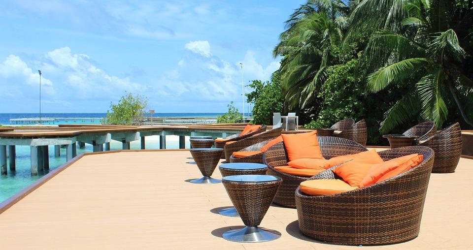 Maldives, Vacations, Summer, Sea, Palm, Dream Holiday