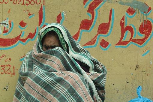 難民, 古い, 女性, 肖像画, 泣く, 毛布, 人, 人間, 戦争の犠牲者