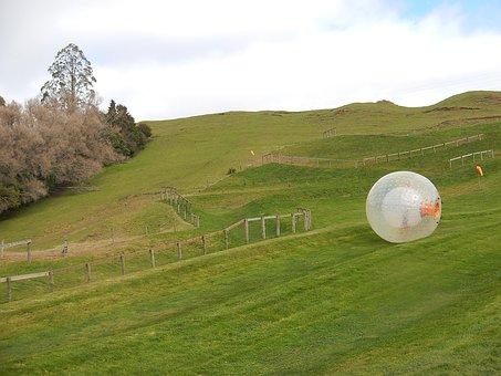 Zorb, Zorbing, Rolling Downhill, Sphere