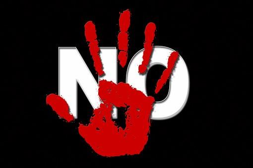 No, Negative, Finger, Hand, Stop