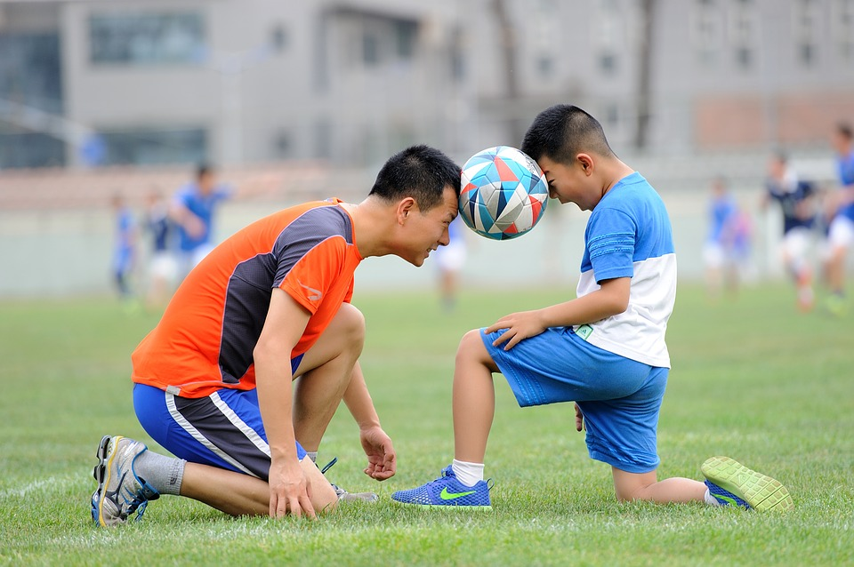 Football, Teenager, Greenery, Sports, Kids, Train, Ball