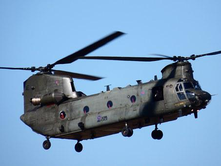 Chinook, Helicopter, Army, Transport