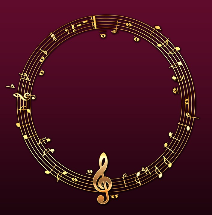frame photo frame sheet music music musical line - Music Picture Frame