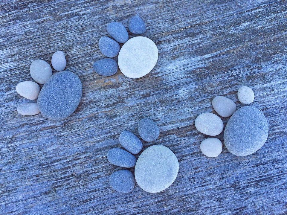 free photo rock stone art craft paw free image on. Black Bedroom Furniture Sets. Home Design Ideas