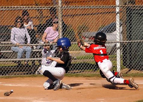 Baseball, Runner, Scoring, Sliding