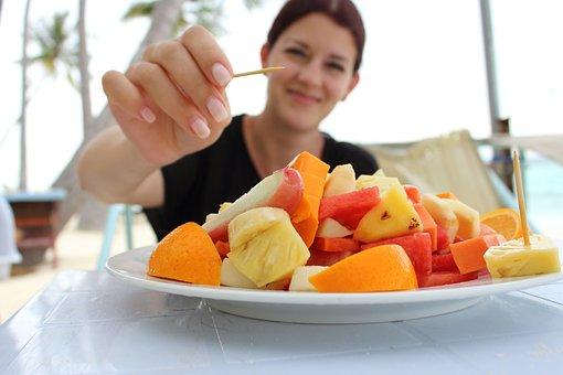 Breakfast, Fruit Salad, Eat, Fruits