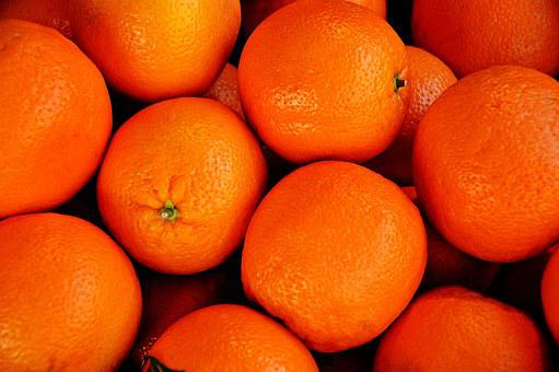 Orange, Left Untreated, Market