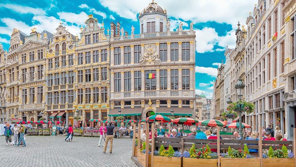 布魯塞爾, Grote市場, 比利時布魯塞爾, 架構, 主廣場, 比利時, 布魯塞爾廣場, 歷史悠久的小鎮