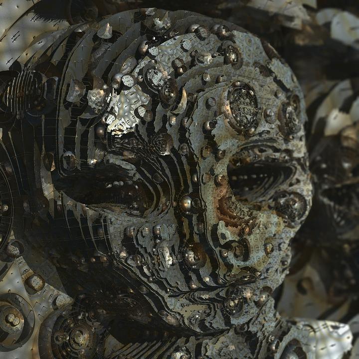 Alien, Et, Extraterrestrial, Humanoid, 3D, Fractal